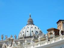 Basilica di San Pietro, Vatican, Roma, Italia Royalty Free Stock Photography