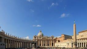 Basilica di San Pietro. Vatican, Rome, Italy. Tim stock video footage