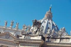 Basilica Di San Pietro, Vatikaan, Rome, stock fotografie