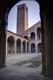 Basilica di Sant Ambrogio Royalty Free Stock Photography
