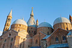 Basilica di Sant'Antonio da Padova, in Padua Royalty Free Stock Photos