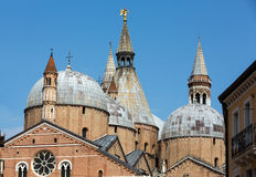 Basilica di Sant`Antonio da Padova, in Padua. Italy Royalty Free Stock Photos