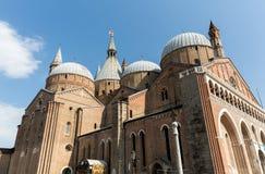Basilica di Sant`Antonio da Padova, in Padua. Italy Stock Photography