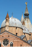 Basilica di Sant`Antonio da Padova, in Padua. Italy Royalty Free Stock Photo