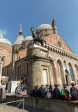 Basilica di Sant`Antonio da Padova, in Padua,. Italy Stock Photo