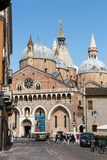 Basilica di Sant`Antonio da Padova, in Padua. Italy Stock Image