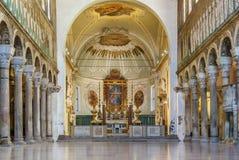 Basilica di Sant Apollinare Nuovo, Ravenna L'Italia Immagini Stock