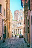 Basilica Di Sant Eustachio In Campo Marzio In Rome Royalty Free Stock Image