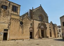 Basilica Di Santa Caterina d'Alessandria Galatina, Apulia, Ιταλία Στοκ εικόνα με δικαίωμα ελεύθερης χρήσης