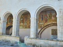 Basilica Di Santa Caterina d'Alessandria Galatina, Apulia, Ιταλία Στοκ φωτογραφία με δικαίωμα ελεύθερης χρήσης