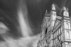Basilica Di Santa Croce, Φλωρεντία, Τοσκάνη, Ιταλία στοκ φωτογραφίες