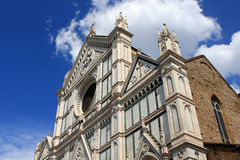 Basilica di Santa Croce. (Basilica of the Holy Cross), Franciscan church in Florence, Italy Royalty Free Stock Images