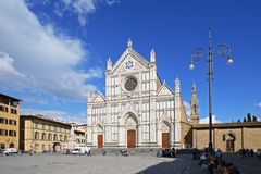Basilica di Santa Croce Royalty Free Stock Photography