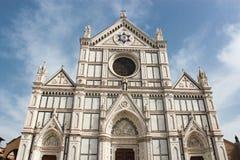 The Basilica di Santa Croce (Basilica of the Holy Cross) Royalty Free Stock Images