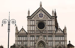 basilica Di santa croce, Florence Stock Afbeelding