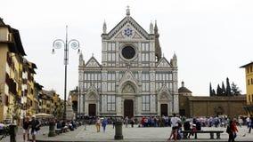 basilica Di santa croce, Florence Stock Afbeeldingen