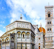 The Basilica di Santa Croce  Florence, Italy Royalty Free Stock Images