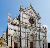 Basilica Di Santa Croce. Florence, Italy Stock Photos