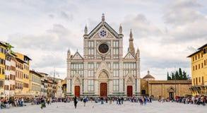The Basilica di Santa Croce in Florence Royalty Free Stock Photo