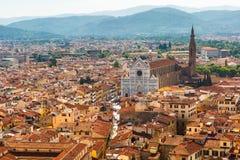 Basilica di Santa Croce in Florence, Italy royalty free stock images