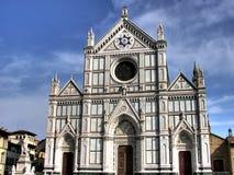 Basilica Di Santa Croce hdr Royalty-vrije Stock Afbeelding