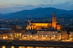 Basilica di Santa Croce Holy Cross is the principal Franciscan c Royalty Free Stock Images