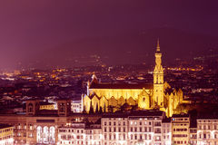 Basilica di Santa Croce Royalty Free Stock Photo