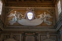Basilica di Santa Maria in Ara coeli rome Italy. Basilica di Santa Maria in Ara coeli ,rome ,Italy Stock Photo