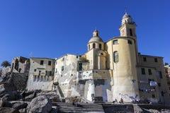 Basilica di Santa Maria Assunta in Camogli, Italy Royalty Free Stock Image