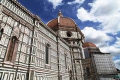 Basilica di Santa Maria del Fiore. The Basilica di Santa Maria del Fiore in Florence Stock Photo