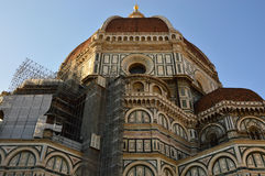 The Basilica di Santa Maria del Fiore Basilica of Saint Mary of the Flower with Brunelleschi dome, Florence, Italy Royalty Free Stock Image