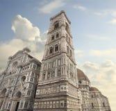 The Basilica di Santa Maria del Fiore and Campanile in Florence, Stock Photos