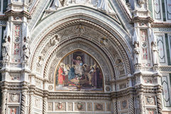 Basilica di Santa Maria del Fiore or Duomo in Florence, Italy Royalty Free Stock Images