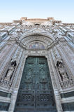 Basilica di Santa Maria del Fiore entrance Stock Photo