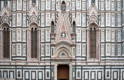 The Basilica di Santa Maria del Fiore, Florence. The Greatest church of Florence Basilica of Saint Mary of the Flower , Italy stock image