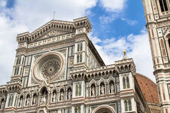 The Basilica di Santa Maria del Fiore, Florence. The Greatest church of Florence Basilica of Saint Mary of the Flower , Italy royalty free stock photo