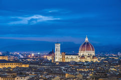 The Basilica di Santa Maria del Fiore in Florence, Italy Royalty Free Stock Photo