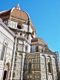 Basilica di santa maria del fiore in florence. In italy stock images