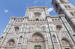 The Basilica di Santa Maria del Fiore in Florence, Italy stock photo