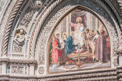 The Basilica di Santa Maria del Fiore in Florence, Italy stock photography