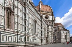 The Basilica di Santa Maria del Fiore, Florence, Italy. Greatest church of Florence Basilica of Saint Mary of the Flower , Italy stock images