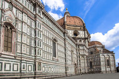 The Basilica di Santa Maria del Fiore, Florence, Italy. The Greatest church of Florence Basilica of Saint Mary of the Flower , Italy royalty free stock images