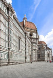 The Basilica di Santa Maria del Fiore, Florence, Italy. Greatest church of Florence Basilica of Saint Mary of the Flower , Italy royalty free stock photo