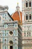 The Basilica di Santa Maria del Fiore in Florence, Italy Stock Images