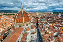 The Basilica di Santa Maria del Fiore in Florence, Italy Royalty Free Stock Photos