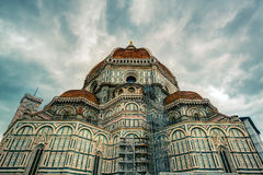 The Basilica di Santa Maria del Fiore in Florence, Italy Royalty Free Stock Photography