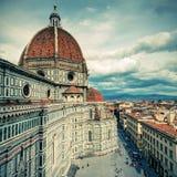 The Basilica di Santa Maria del Fiore in Florence, Italy Stock Image