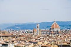 The Basilica di Santa Maria del Fiore in Florence, Italy Royalty Free Stock Image