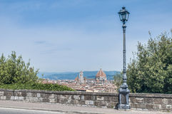 The Basilica di Santa Maria del Fiore in Florence, Italy royalty free stock photos