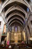 Basilica di Santa Maria del Pi Fotografia Stock Libera da Diritti